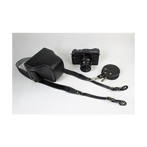 Fujifilm X-Pro2 X-Pro 2 X Pro2 ケース 本革カメラーケース、Koowl手作り表面牛革カメラケース、富士 X-P|huratto|09
