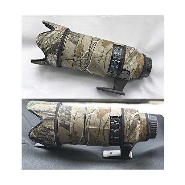 JunTuo Canon EF 300mm f/2.8 L IS II USM用 迷彩レンズ コート レンズ保護カバー 望遠レンズカバー (