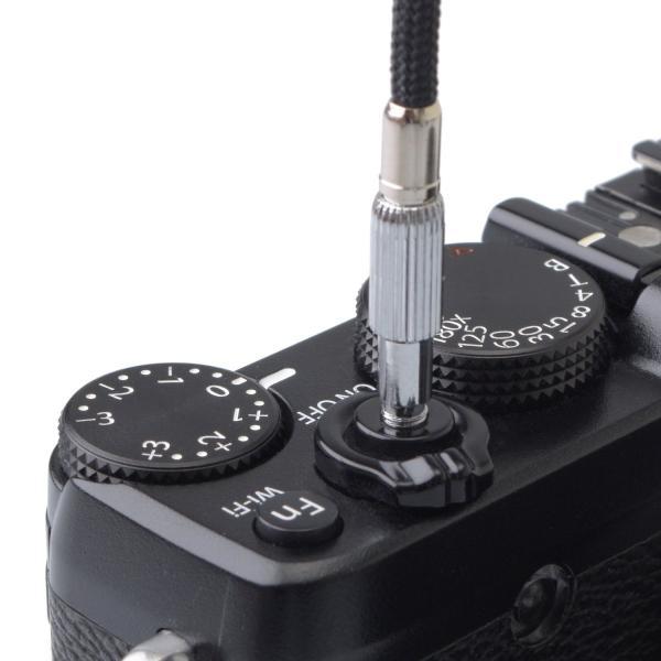 ETSUMI 布製レリーズ 25cm ストップ機構付 E-384