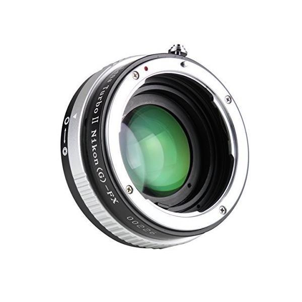 中一光学 (ZHONG YI OPTICS) フォーカルレデューサー マウントアダプター Lens Turbo ? N/G-FX (ニコンF