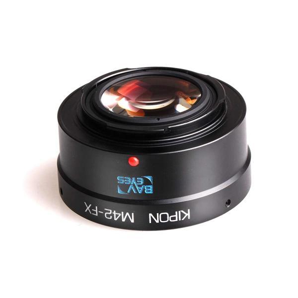 KIPON BAVEYES フォーカルレデューサーマウントアダプター 富士フィルムXマウント (M42マウントレンズ) BAVEYES M4