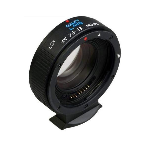 KIPON Baveyes EF-FX AF 0.7X レンズ側:キヤノンEF ボディ側:フジフイルムX