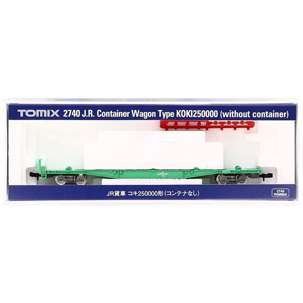 TOMIX Nゲージ コキ250000 コンテナなし 2740 鉄道模型 貨車|huratto