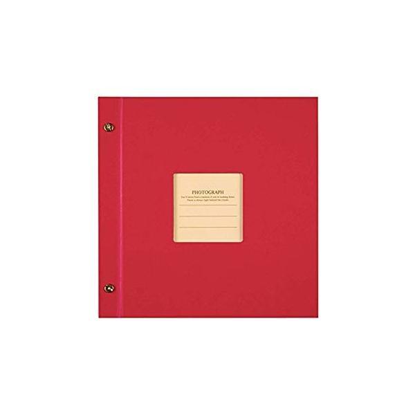 SEKISEI アルバム ポケット ハーパーハウス ましかくアルバム フレーム 80枚収容 51~100枚 レッド XP-8910|huratto|04