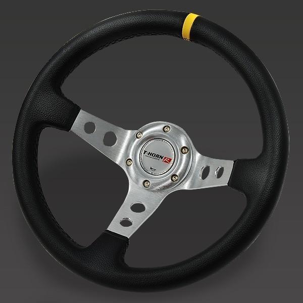 ステアリング 32φ 70mm ディープコーン ハンドル 車 交換 取り付け 内装 カスタム パーツ アクセサリー ドレスアップ 自動車