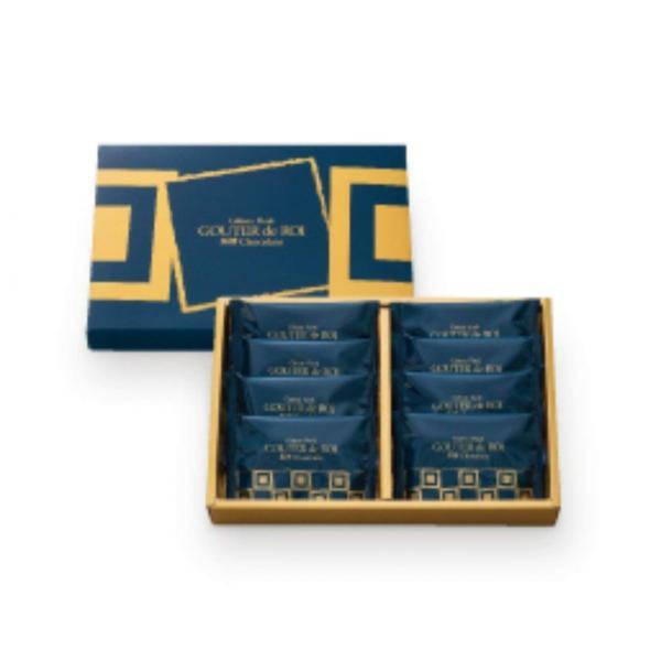 九州限定 ガトーフェスタハラダ グーテ・デ・ロワ  黒糖チョコレート 簡易箱 RK2 8枚入