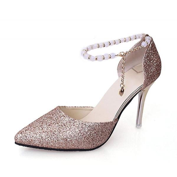 パンプス ハイヒール 美脚 レディース 結婚式 2ヒール 5cm 8cm  二次会 パーティー 靴 シューズ サンダル ピンヒール ポインテッドトゥ