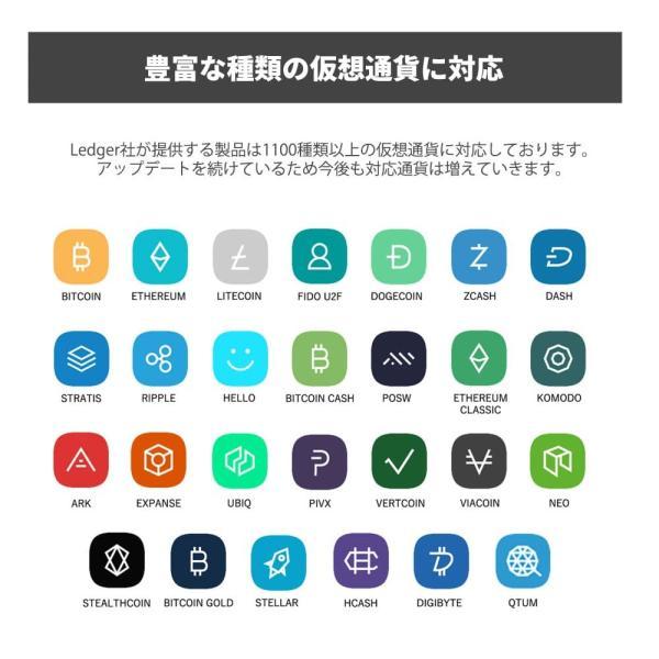 仮想通貨 Ledger Nano S ハードウェアウォレット レジャー ナノS 暗号通貨 ビットコイン リップル イーサリアム 日本語サポート 日本正規販売店 送料無料|hwwj|04