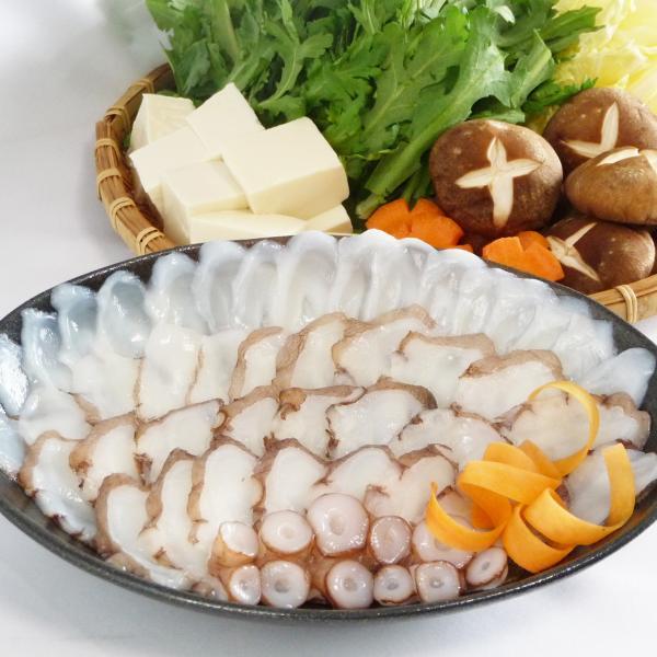 「神戸グルメ」明石蛸のたこしゃぶ3人前 木箱入り(冷凍)
