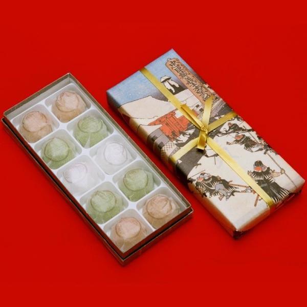 「三島製菓」播州赤穂 塩味饅頭(10個入)|hyogo-tokusanhin