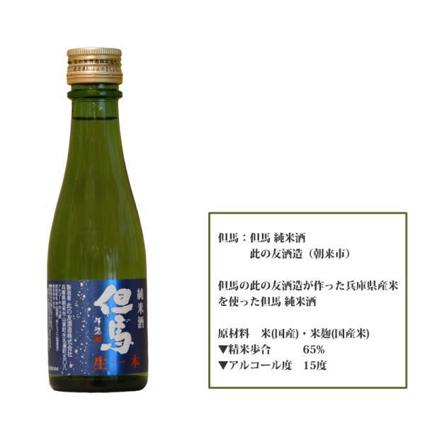 「ひょうごふるさと館」神戸酒類販売 兵庫五国飲みくらべセット(912-39)|hyogo-tokusanhin|08