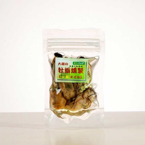 大槌の牡蛎燻製《山椒オイル》ミニ  〜お祝い・プレゼント・内祝いにも。三陸産直かきなど逸品大カキを贅沢スモークに|hyotanjima-tomaya|02