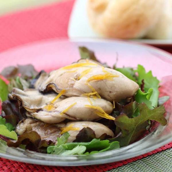 大槌の牡蛎燻製《柚子ドレッシング》ミニ  〜素材も燻製材、燻製器も全部国産。迫力の大カキを絶品スモークに hyotanjima-tomaya 04