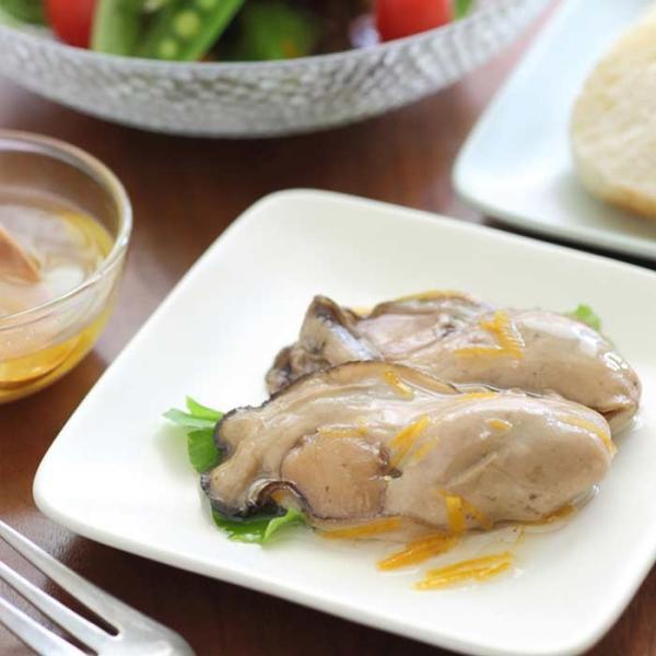 大槌の牡蛎燻製《柚子ドレッシング》ミニ  〜素材も燻製材、燻製器も全部国産。迫力の大カキを絶品スモークに hyotanjima-tomaya 05