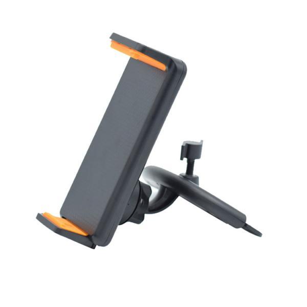 車載ホルダー タブレッドホルダー CDスロット スマホホルダー 4-12インチ対応 360度回転 USBケーブルの整理 ipad 2色|hyp358|11