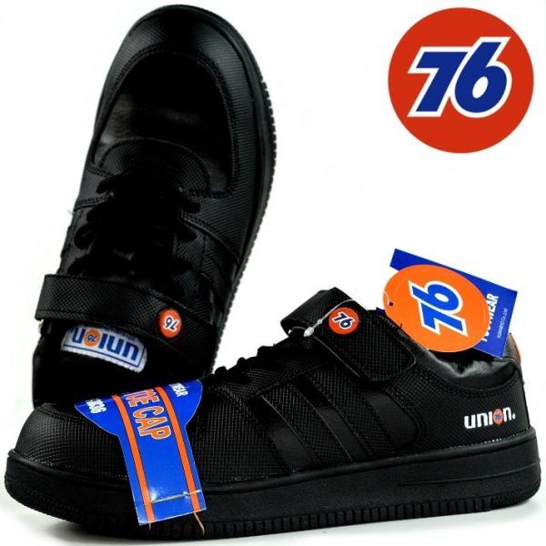 安全靴 メンズ ブランド 76Lubricants ナナロク スニーカー セーフティー シューズ 靴 メンズ ブラック 黒 3036 Y_KO 190115 プレゼント ギフト