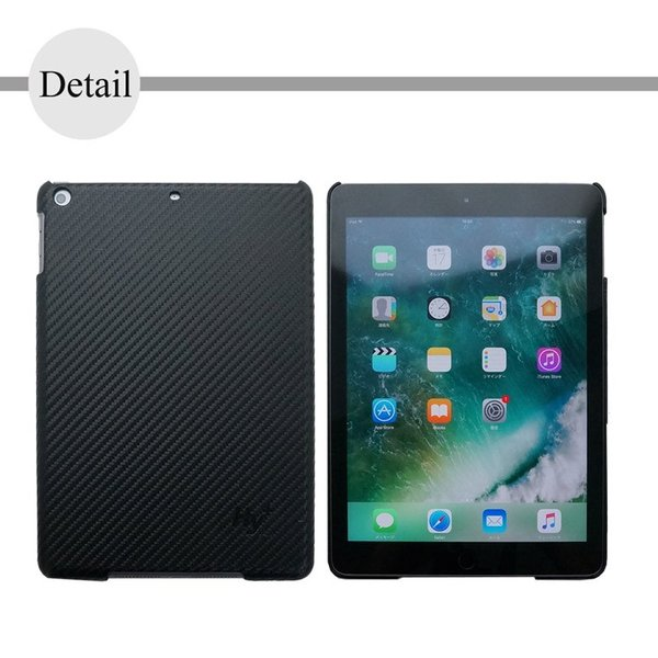 Hy+ iPad 第5世代(A1822、A1823) 後部座席カーマウントプレート内蔵ケース ブラック|hyplus|06