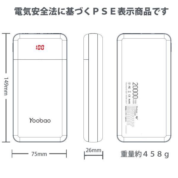 モバイルバッテリー 大容量 20000mAh 急速充電|hyplus|11