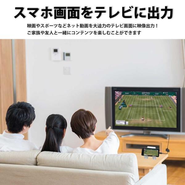 Hy+ Type-C to HDMI 変換アダプター HY-TCHD4 4K映像対応(Xperia1 Galaxy S10 S10+ S9 S9+ S8 S8+ Huawei P20 P20 Pro対応) ブラック|hyplus|04