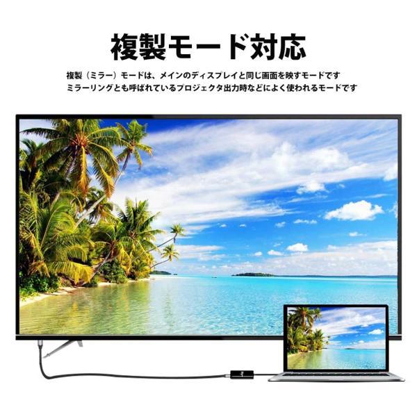Hy+ Type-C to HDMI 変換アダプター HY-TCHD4 4K映像対応(Xperia1 Galaxy S10 S10+ S9 S9+ S8 S8+ Huawei P20 P20 Pro対応) ブラック|hyplus|05