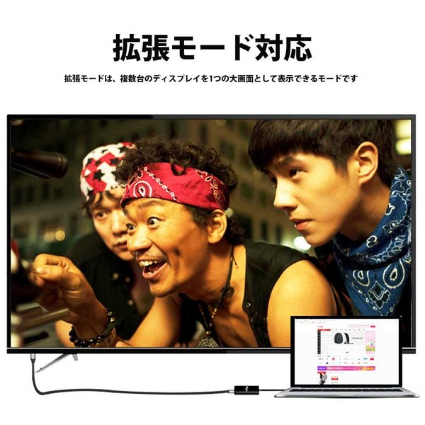 Hy+ Type-C to HDMI 変換アダプター HY-TCHD4 4K映像対応(Xperia1 Galaxy S10 S10+ S9 S9+ S8 S8+ Huawei P20 P20 Pro対応) ブラック|hyplus|06