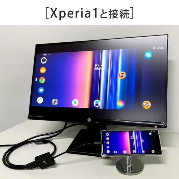 Hy+ Type-C to HDMI 変換アダプター HY-TCHD4 4K映像対応(Xperia1 Galaxy S10 S10+ S9 S9+ S8 S8+ Huawei P20 P20 Pro対応) ブラック|hyplus|07