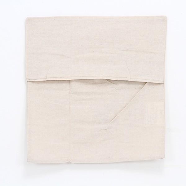 クッションカバー タンポポ 45×45cm かぶせ式 ナチュラル アイボリー たんぽぽの綿毛 hypnos 03