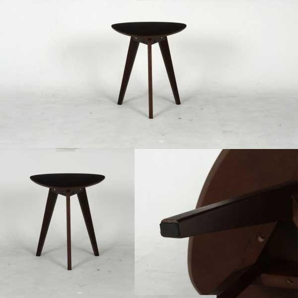 コーヒーテーブル ブラウン 木製サイドテーブル シンプル 机 つくえ ナイトテーブル ベットテーブル ソファサイド サイドテーブル ミニ Coffee table hypnos 02