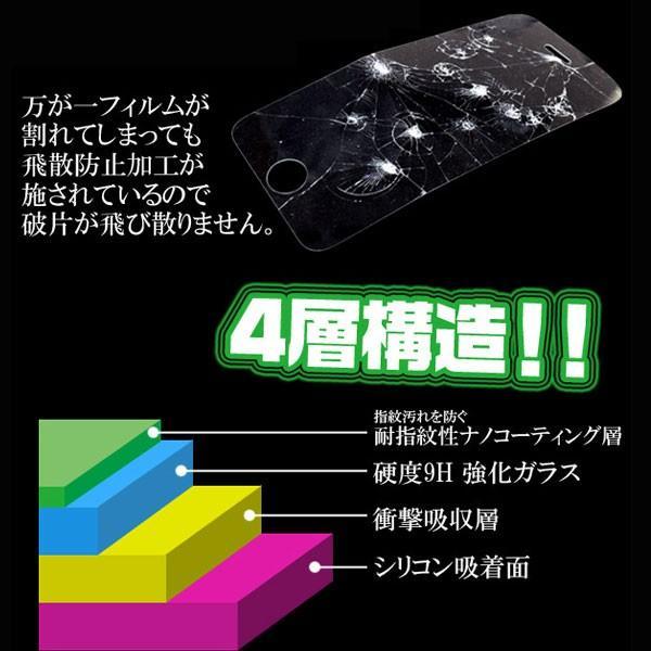 Galaxy Feel SC-04J ガラスフィルム 液晶保護シール 保護フィルム ギャラクシーフィール|hypnos|03