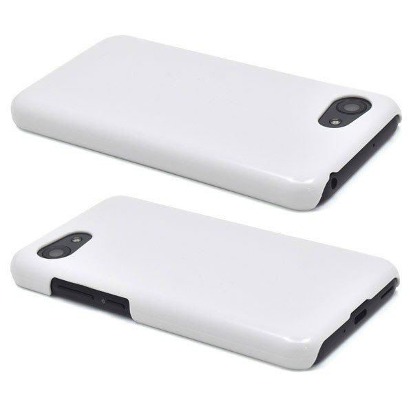 AQUOS R compact SHV41/SoftBank701SH/SH-M06用 ハードホワイトケース 白|hypnos|02