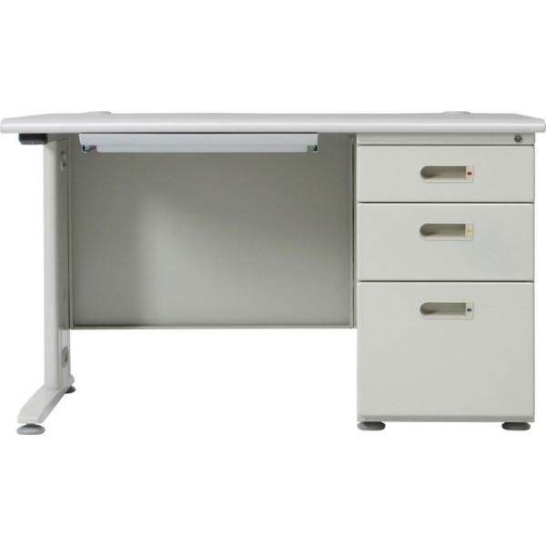 事務机 片袖デスク 120幅 オフィスデスク 机 つくえ デスク 片袖デスク 120幅  KHS−120 hypnos 02