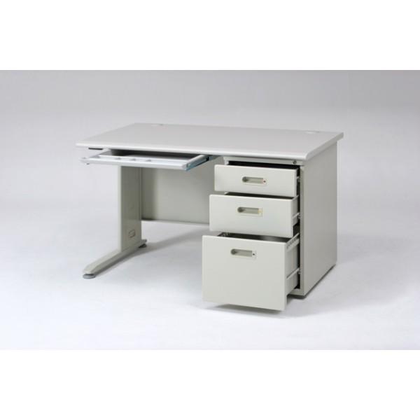 事務机 片袖デスク 120幅 オフィスデスク 机 つくえ デスク 片袖デスク 120幅  KHS−120 hypnos 03