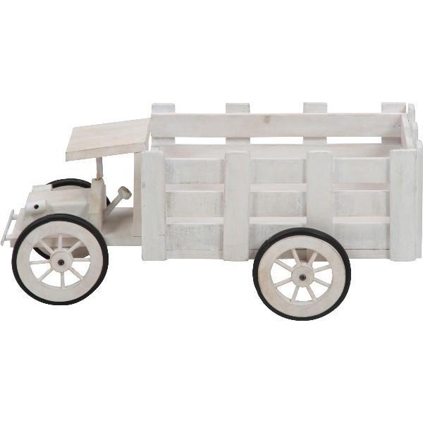 プランター フラワースタンド 花台 木製トラック ガーデン 小物入れ 雑貨 ディスプレイ|hypnos|02