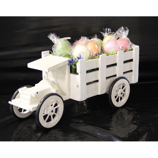 プランター フラワースタンド 花台 木製トラック ガーデン 小物入れ 雑貨 ディスプレイ|hypnos|03