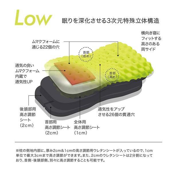 まくら エアー エアー3D 3Dピロー コンディショニングピロー/TOUGH/タフ/西川産業/東京西川/安眠|hypnos|03