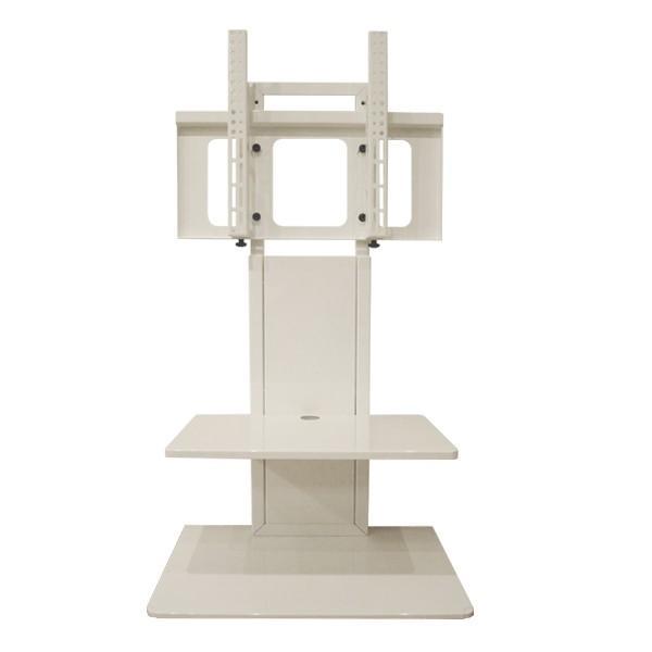 MW-3755ST11おしゃれ壁寄せテレビスタンド37-55V型モニタワーホワイト壁寄せテレビ台据置き式SDSエスディエス正規品|i-11myroom|02