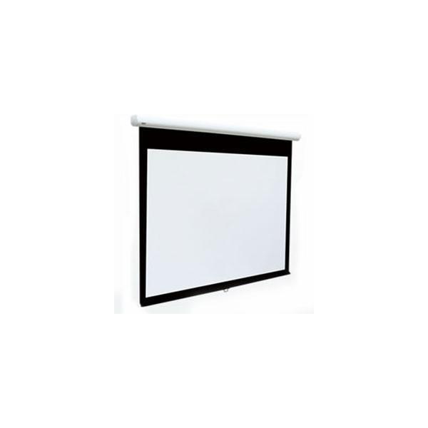 ケイアイシー KIC スプリング巻上スクリーン (4:3サイズ) MS-90W (ホワイト)