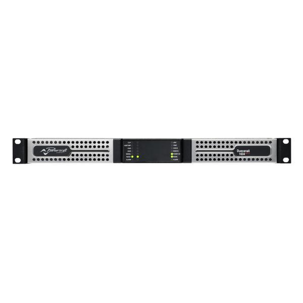 POWERSOFT 2チャンネル固定設備向けLo-Z/Hi-Zパワープラットフォーム Duecanali 1604 DSP+D