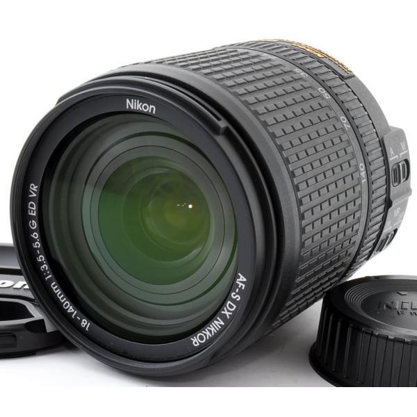 標準レンズ 中古 Nikon ニコン AF-S DX NIKKOR 18-140mm f/3.5-5.6G ED VR