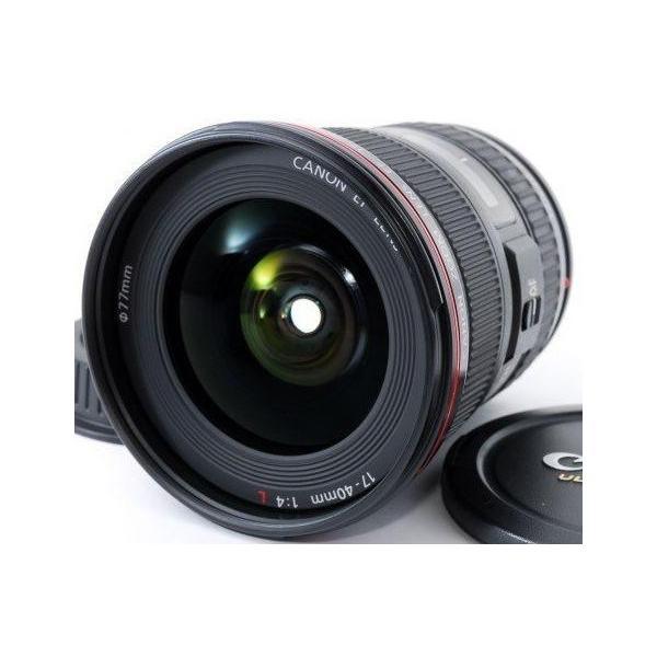 交換レンズ 中古 保証 CANON キヤノン EF 17-40mm F4L USM