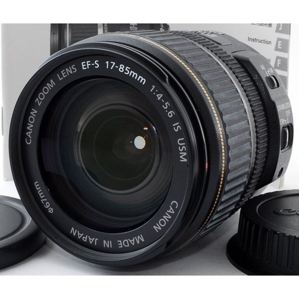標準レンズ 中古 Canon キヤノン EF-S 17-85mm F4-5.6 IS USM