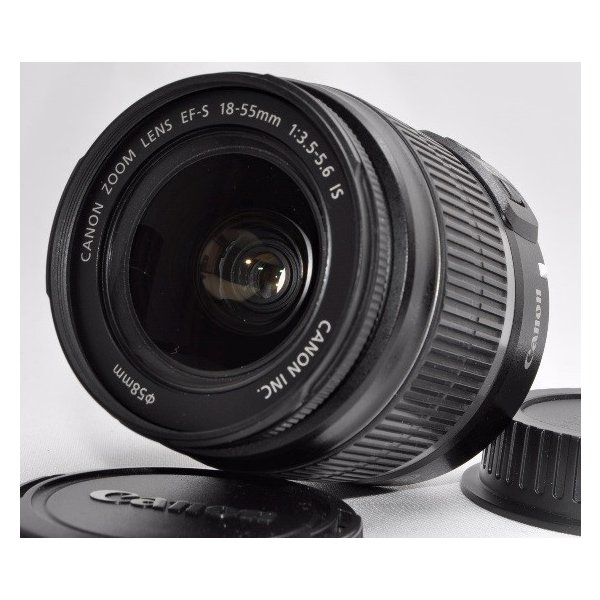CANON おすすめ 標準レンズ 保証 キヤノン EF-S18-55mm F3.5-5.6 IS