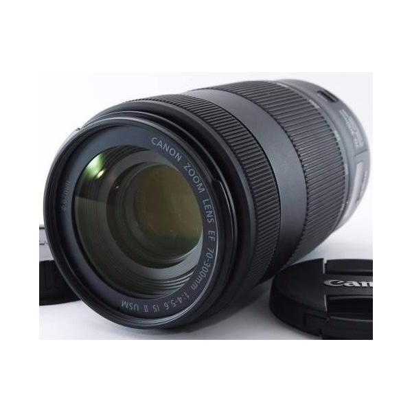 望遠レンズ  保証 CANON キヤノン EF70-300mm F4-5.6 IS II USM