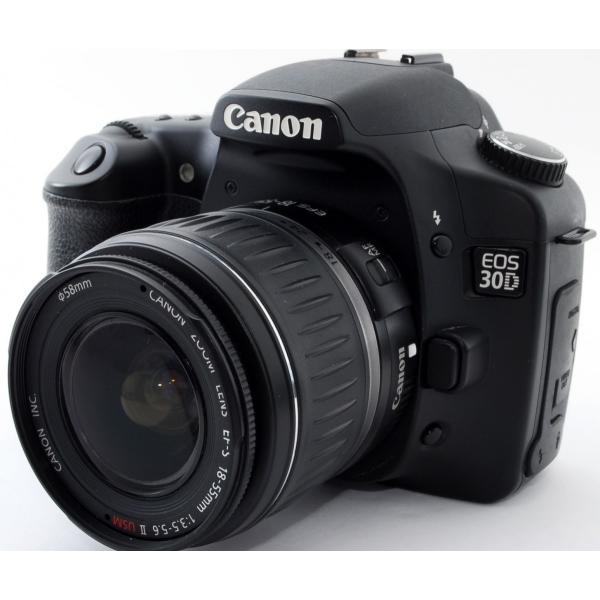デジタル一眼 中古 スマホに送れる CANON キヤノン EOS 30D レンズキット
