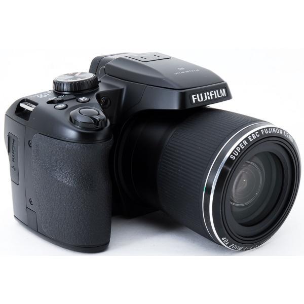 デジタルカメラ 中古 スマホに送れる FUJIFILM 富士フイルム FinePix S8200 ブラック|i-camera-shop|03