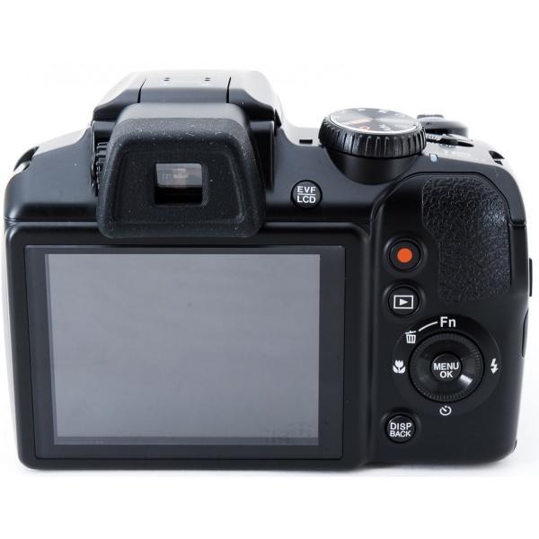 デジタルカメラ 中古 スマホに送れる FUJIFILM 富士フイルム FinePix S8200 ブラック|i-camera-shop|04