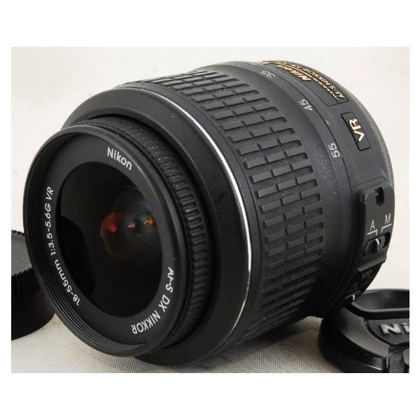 標準レンズ 中古 Nikon ニコン AF-S DX NIKKOR 18-55mm f/3.5-5.6G VR