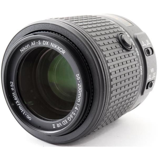 望遠レンズ 中古 保証 Nikon ニコン AF-S DX NIKKOR 55-200mm f/4-5.6G ED VR II