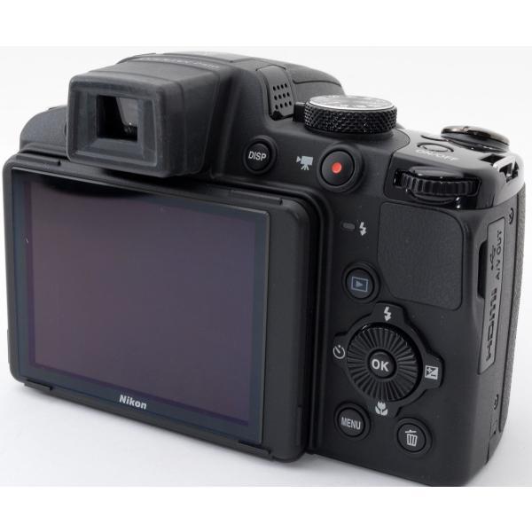 デジカメ 中古 スマホに送れる Nikon ニコン COOLPIX P510 ブラック|i-camera-shop|04
