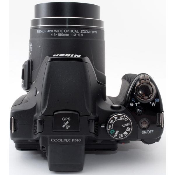 デジカメ 中古 スマホに送れる Nikon ニコン COOLPIX P510 ブラック|i-camera-shop|06